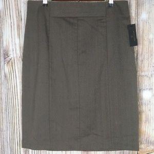 Worthington Herringbone skirt size 16